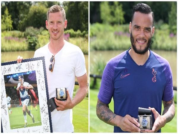 Jan Vertonghen (R) and Michel Vorm (L) (Photo/Tottenham Hotspur Twitter)