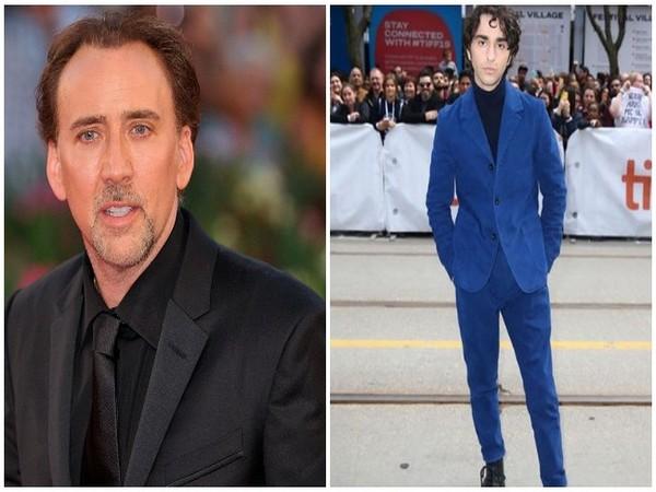 Nicolas Cage and Alex Wolff (Image courtesy: Instagram)