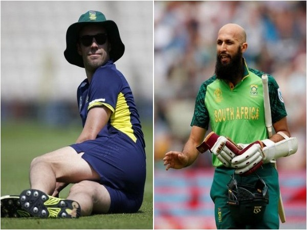 AB de Villiers (L) and Hashim Amla (R)