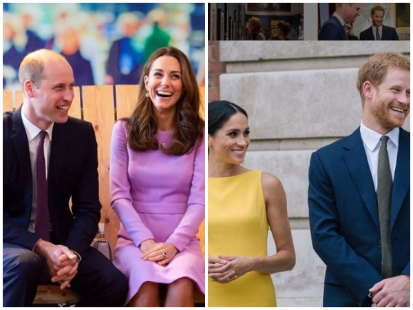 Prince Williams, Kate Middleton, Meghan Markle and Prince Harry (Image courtesy: Instagram)