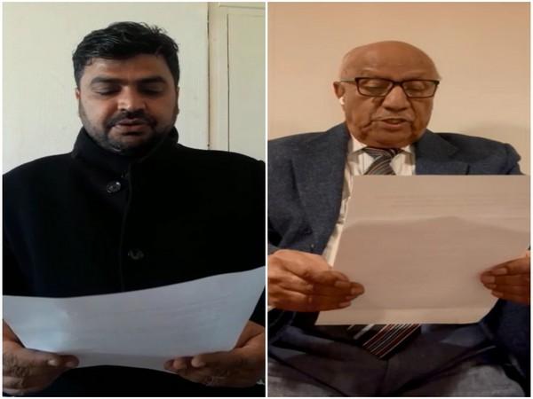 Ali Akbar Mengal and Waza Siddiquie (Photo/ANI)