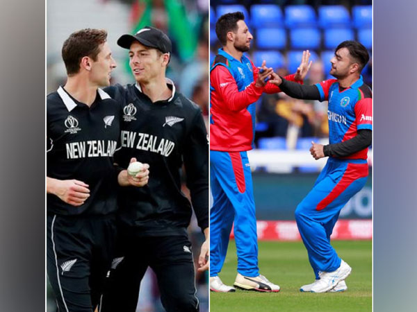 New Zealand and Afghanistan teams