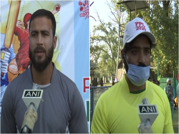 Budding cricketers from the Valley (Photo/ANI)