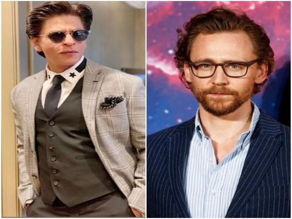 Shah Rukh Khan and Tom Hiddleston (Image Source: Instagram)