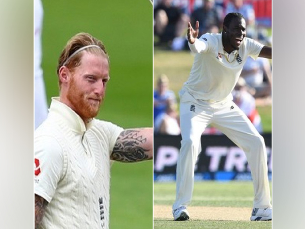 Ben Stokes (L) and Jofra Archer (R)