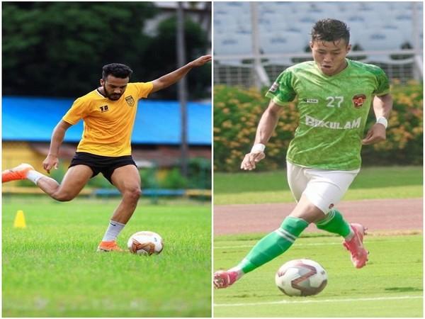 Sahil Panwar and Sebastian Thangmuansang (Image: Odisha FC)