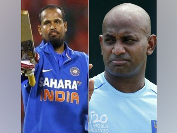 Former India all-rounder Yusuf Pathan and ex-Sri Lanka opener Sanath Jayasuriya