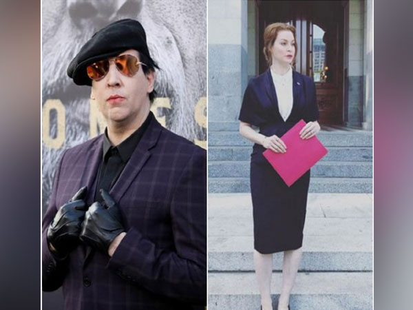 Marilyn Manson and Esme Bianco