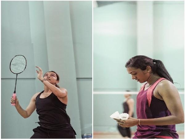 Deepika Padukone and PV Sindhu (Image source: Instagram)