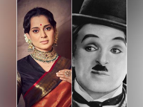 Kangana Ranaut and Charlie Chaplin