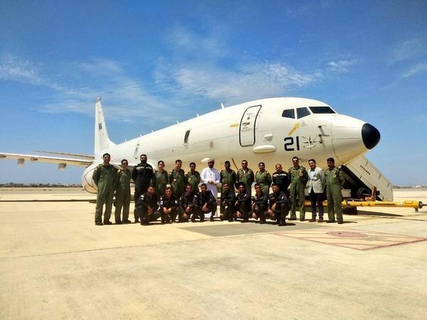 File pic Indian Navy P8I surveilliance plane