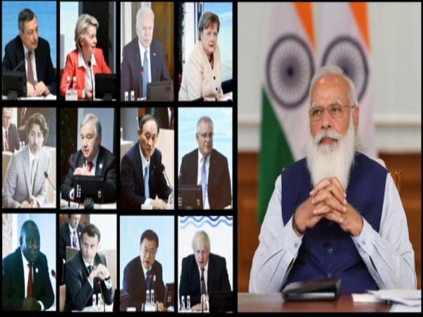 Prime Minister Narendra Modi and G7 leaders (Photo Credit: PIB)