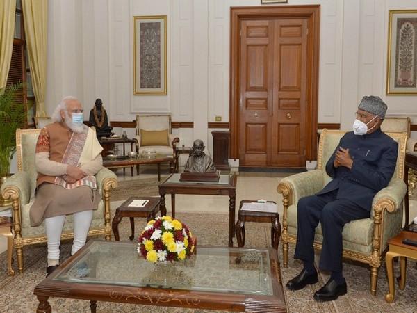 President and Prime Minister hold meeting (Photo : President Ram Nath Kovind)