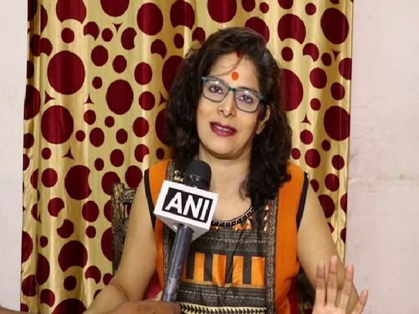 Actress Nupur Alankar. Photo/ANI
