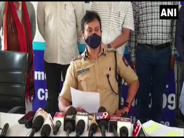 Krishna Prakash, Police Commissioner, Pimpri Chinchwad speaking to media on Saturday.