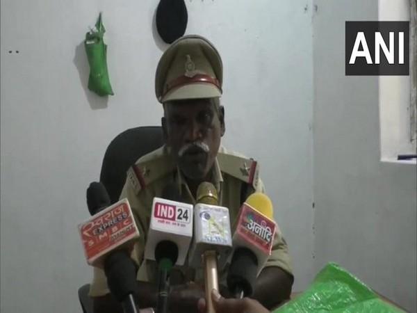 ASI US Kashyap speaking to media.