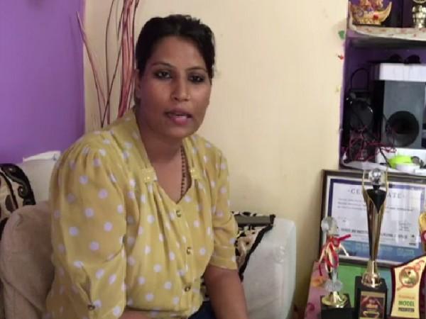 Sun-Inspector Anila Parashar speaking to ANI in Indore, Madhya Pradesh on July 21. Photo/ANI