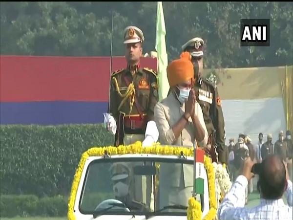 MoS Home Affairs G Kishan Reddy attends 74th Raising Day of Delhi Police (Photo/ ANI)