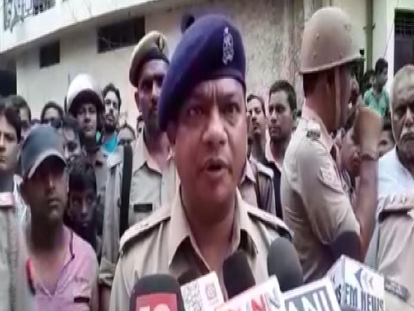 SP (City) Saharanpur, Vineet Bhatnagar speaking to media on Sunday.
