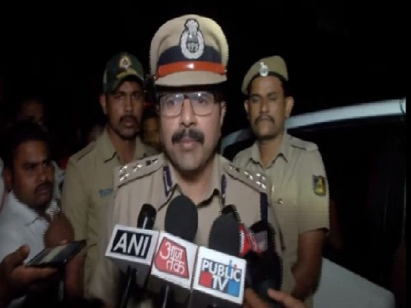 R Dilip, Commissioner of Police Hubli Dharwad speaking to media on Saturday.