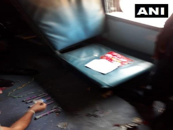 On Wednesday, five gelatin sticks were found in Shalimar Express train at Lokmanya Tilak Terminus (LTT) station.