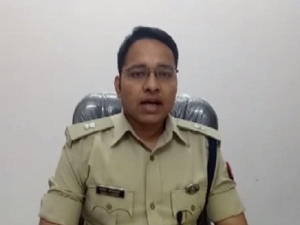 Superintendent of Police (SP) City Noida, Vineet Jaiswal speaking to ANI on Sunday.