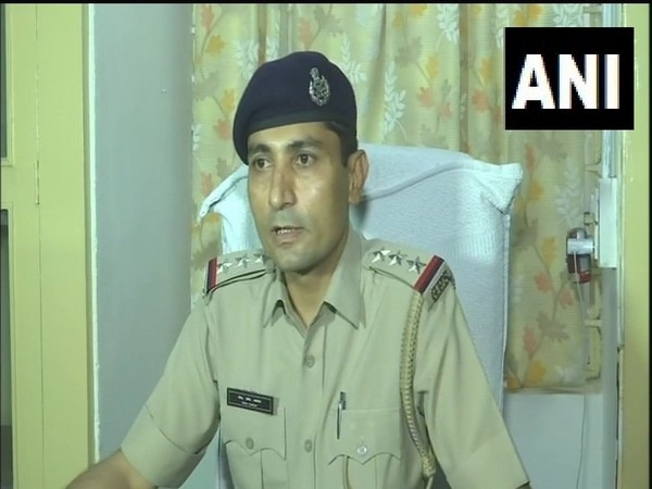 Police Inspector FM Nayab addressing media persons in Ahmedabad on Wednesday. Photo/ANI