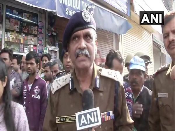 Delhi Police Joint Commissioner OP Mishra speaking to ANI in Delhi on Friday.