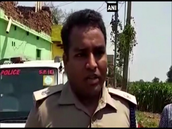 Pramod Kumar, Agra (East) Additional Superintendent of Police, while speaking to ANI on Sunday. Photo/ANI