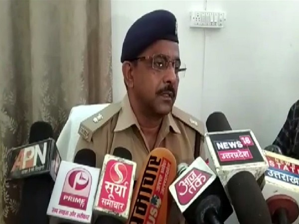 Additional Superintendent of Police (ASP) Mainpuri, Om Prakash Singh speaking to ANI in Uttar Pradesh on July 8. Photo/ANI