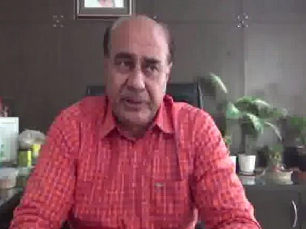 DCP Faridabad Vikram Kapoor speaking to ANI on Wednesday Photo/ANI.