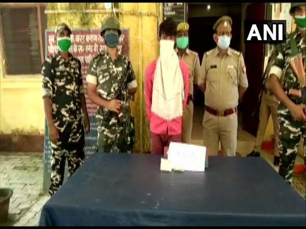 Man arrested with drugs worth arounf Rs 1 crore. (Photo/ANI)