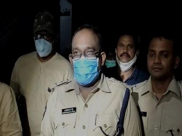 Bukkaraya Samudram Circle Inspector G Veeraraghava Reddy (Photo: ANI)