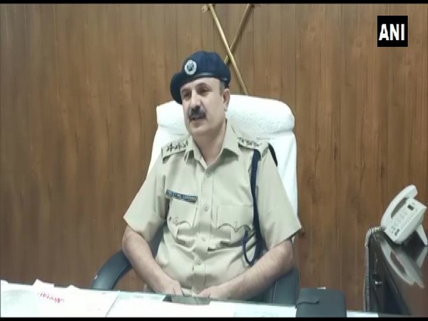 Pritpal Singh, ACP, Gurugram while sharing details of the case. (Photo/ANI)