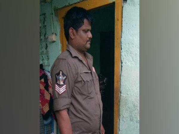 Ajit Singh Nagar Police Station Head Constable Bujji Babu. (Photo/ANI)