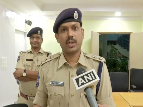 Kalmeshwar Shingenavar, IPS, DCP North Zone, Hyderabad City. (Photo/ANI)