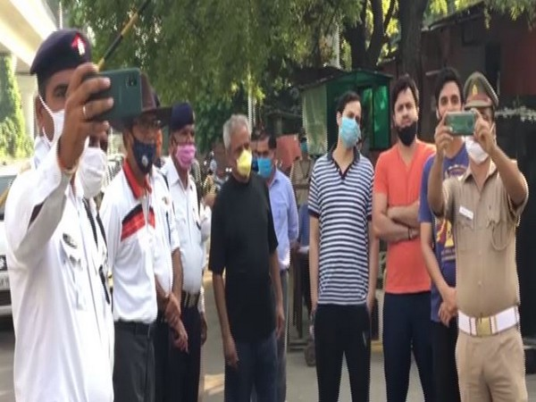 Noida Police launches initiative to enhance its interaction with the public. (Photo/ANI)