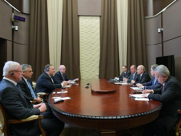 Delegation led by Russian President Vladimir Putin and US Secretary of State Mike Pompeo met in Sochi on May 14