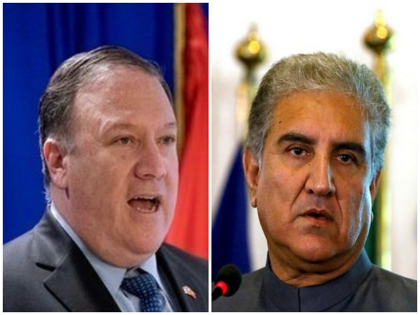 United States Secretary of State Michael R Pompeo and Pakistan Foreign Minister Shah Mahmood Qureshi