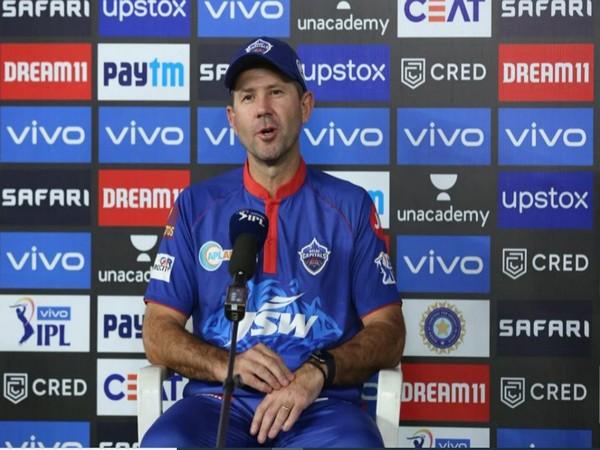 Delhi Capitals head coach Ricky Ponting (Photo/ iplt20.com)