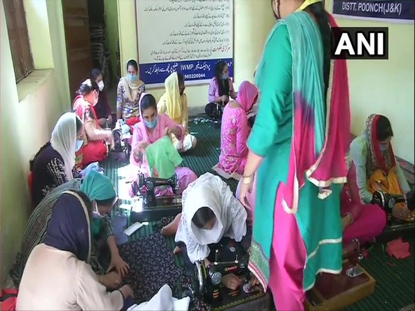 Rural self-employment training institute is providing free services to the women in rural areas of Poonch, J&K. (Photo/ANI)