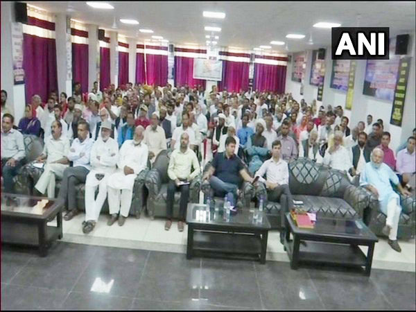Poonch District administration organised Back to Village Programme in Poonch, Jammu and Kashmir on Wednesday. Photo/ANI