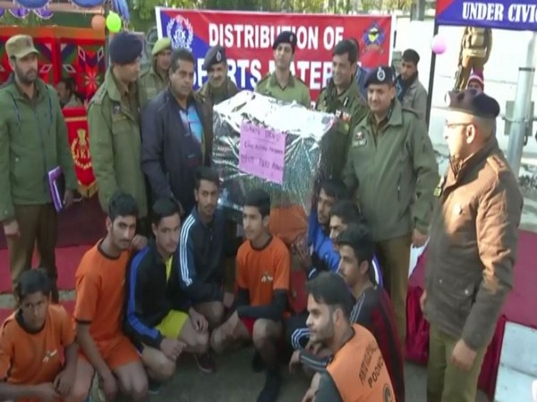 Visual from the event by J-K Police