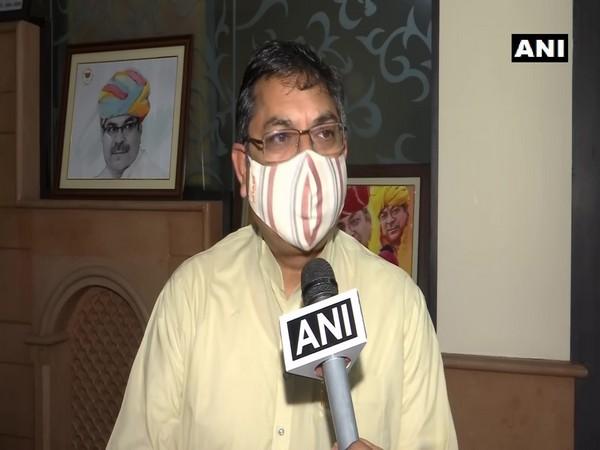 BJP Rajasthan president Satish Punia speaking to ANI on Saturday. (Photo/ANI)