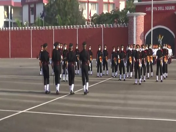 A visual from the passing our parade at MCEME on Saturday. Photo/ANI