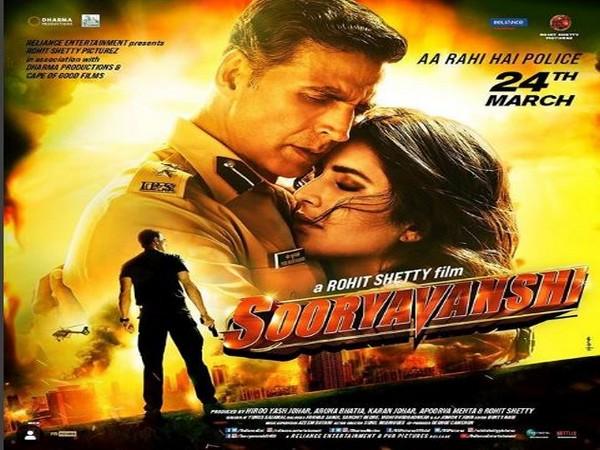 New poster of the film 'Sooryavanshi' (Image courtesy: Instagram)