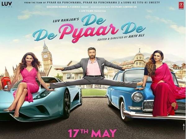 Poster of the film 'De De Pyaar De'