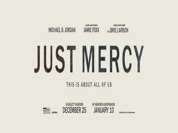 Poster of 'Just Mercy', Image courtesy: Twitter