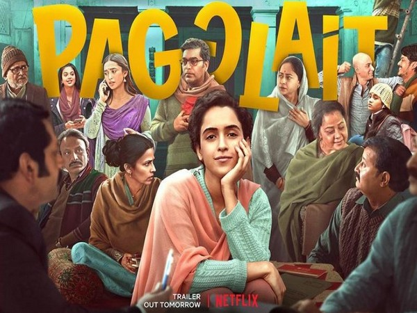 Pagglait' trailer: Sanya Malhotra sets out on journey of self-discovery as  young widow