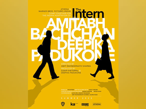 Poster of 'The Intern' (Image source: Instagram)
